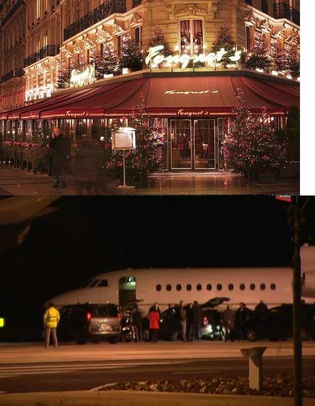 En attendant le quatre cent vingt troisième fafiot! dans -- Le jeu des 7 différences  -- hollande-avion-brive2012