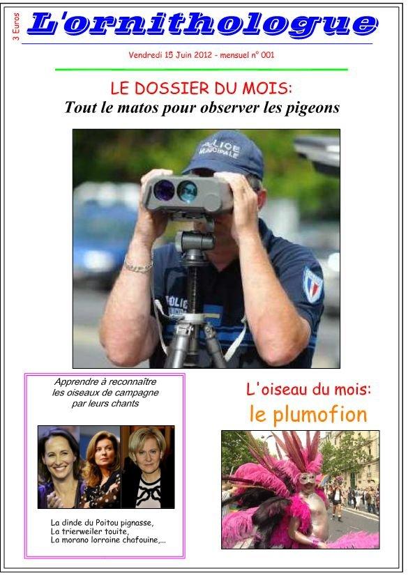l'ornihtologue Juin 2012