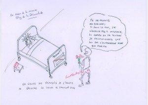 visite de François Holllande à Valérie