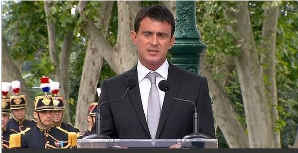 "Manuel Valls - ""S'en prendre à un juif, c'est s'attaquer à la France."""